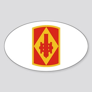 SSI - 75th Field Artillery Brigade Sticker (Oval)